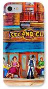 Cafe Second Cup Terrace IPhone Case