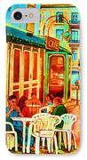 Cafe Vienne IPhone Case
