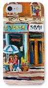 Cafe Yenta And Ma's Place IPhone Case
