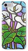 Calla Lilies 3 IPhone Case