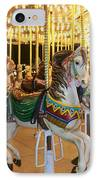 Carousel Horse 4 IPhone Case