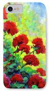 Cascade Of Geraniums IPhone Case