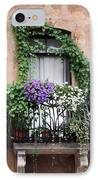 Cascading Floral Balcony IPhone Case