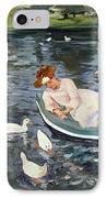 Cassatt: Summertime, 1894 IPhone Case