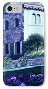 Castle Sestri Levante IPhone Case