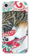 Catnap Time IPhone Case