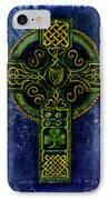 Celtic Cross - Harp IPhone Case
