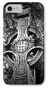 Celtic Cross Detail Killarney Ireland IPhone Case