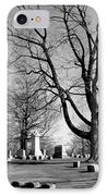 Cemetery 5 IPhone Case