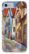 Cesky Krumlov Old Street 2 IPhone Case