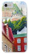 Chateau Frontenac 02 IPhone Case