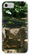 Cheetah On The In The Forest 2 IPhone Case