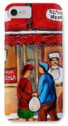 Chef In The Window IPhone Case