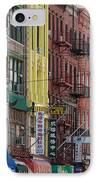 Chinatown Walk Ups IPhone Case
