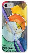Circular Confusion IPhone Case