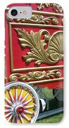 Circus Car In Red And Gold IPhone Case