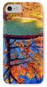 Colors Of Fall On The Lily Pond IPhone Case