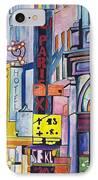 Colors Of Paris IPhone Case
