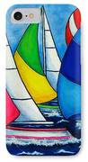 Colourful Regatta IPhone Case