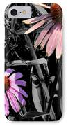 Cone Flower Tapestry IPhone Case