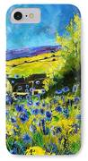 Cornflowers In Ver IPhone Case