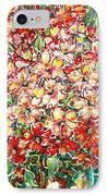 Cottage Garden Flowers IPhone Case