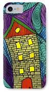 Crooked Yellow Brick House IPhone Case