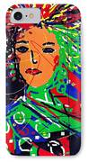 Cyberspace Goddess IPhone Case