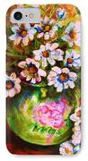 Daisies And Ginger Jar IPhone Case