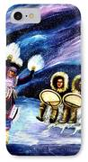 Dancing With The Spirits IPhone Case