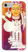 Daughter Of The Bright Sun - Kushe IPhone Case