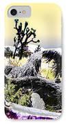 Desert Landscape - Joshua Tree National Monment IPhone Case