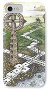 Domino Crosses IPhone Case