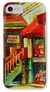 Double Hook Book Nook IPhone Case