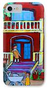 Durocher Street Montreal IPhone Case