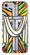 Easter Cross 5 IPhone Case