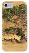 Elk Under Tree IPhone Case
