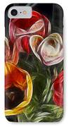 Energetic Tulips IPhone Case