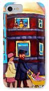 Esplanade Street Sabbath Walk IPhone Case