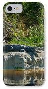 Everglades Crocodile IPhone Case