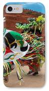Fancy Shawl Dancer At Star Feather Pow-wow IPhone Case