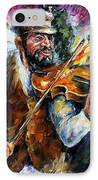 Fiddler From The Sky IPhone Case