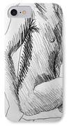 Figure Drawing 3 IPhone Case