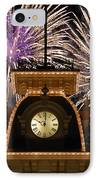 Fireworks At Ten IPhone Case