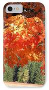 Flickering Sunlight IPhone Case