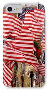 Flight 93 Flags IPhone Case