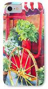 Flower Wagon IPhone Case