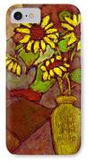 Flowers In Vase Altered IPhone Case