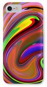 Fluid Colour IPhone Case