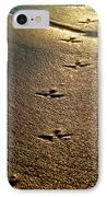 Footprints - Bird IPhone Case